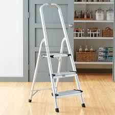 Polder 3- & 5-Step Aluminum Folding Ladders