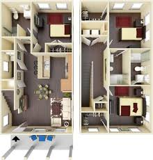 Floorplans Highland Square 2 3 4 5 6 Bedroom Apartments