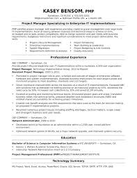 Technical Project Manager Resume Thrifdecorblog Com