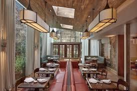 interior of luca italian restaurant london