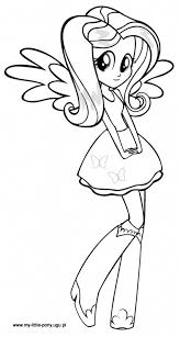Small Picture My Little Pony Coloring Pages Equestria Girls Az Coloring Pages