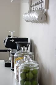 Kitchen Coffee Bar Kitchen Coffee Bar And Open Shelving Less Than Average Height