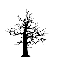You will also receive 1 png files that is ideal for using on the web. Halloween Dead Tree Vector Svg Icon 2 Dead Tree Silhouette