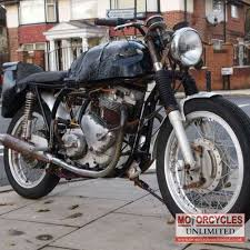 1955 triton cafe racer project for sale motorcycles unlimited