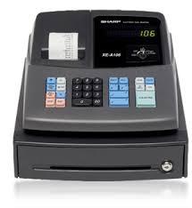 sharp xe a206. sharp xe-a106 cash register xe a206