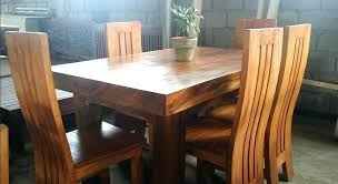 wood dining set pure wood 6 dining set wooden dining set on wood dining table philippines