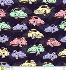 Retro Auto Behang
