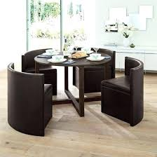 space saving table chair set round white dining and sets chairs kitchen 2 creative design furniture