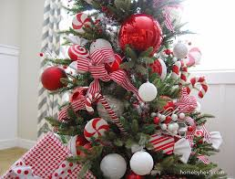 Candy Cane Decorations For Christmas Trees Home By Heidi Candy Cane Christmas Tree To Me Just Doesnt Feel 42