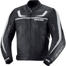 ixs shertan leather jacket black white motorcycle jackets ixs flow elbow pads whole usa