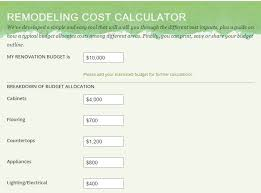 Home Remodeling Cost Calculator Remodeling Costs Estimator Wohnzimmer Ideen