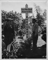 photo essay honoring fallen wwii ese american iers 6 nisei veterans at memorial site 1948 seattle nisei veterans committee collection