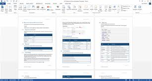 Document Template Word Api Documentation Template Ms Word Technical Writing Tools