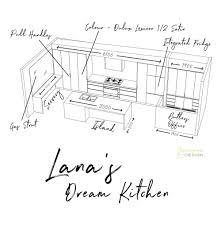 Design My Dream Kitchen How I Designed My Dream Kitchen Three Birds Renovations