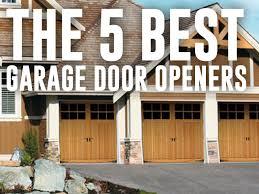 the 5 best automatic garage door openers