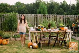 Small Picture Outdoor Decorating for Fall The Apron by The Home Depot