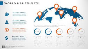 Powerpoint Templates Map Of The World Roadmap Global