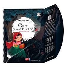 Sách Tương Tác - Sách Chiếu Bóng - Cinema Book - Rạp Chiếu Phim Trong Sách  - Cô Bé Quàng Khăn Đỏ | Nhà sách Fahasa