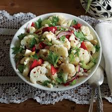 Cauliflower Salad Recipe Cooking Light Cauliflower Salad