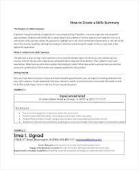 Summary For Resume Summary Resume Summary Examples Customer Service ...