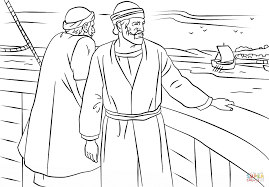 Small Picture Paul and Barnabas missionary journey coloring page Free