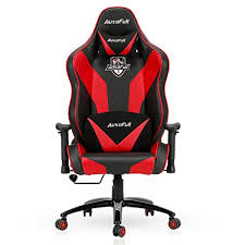 office bucket chair. AutoFull Gaming Chair, Large Size Racing Office Executive Swivel Leather Chair Bucket