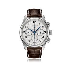 mens longines watches the watch gallery longines master chronograph automatic mens watch l26934785