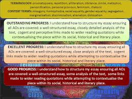 working towards the exam lq can i write effectively to articulate  good progress i understand how to structure my essay ensuring all aos are covered