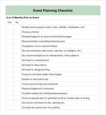 Event Check In Template Management Checklist Free End Of Day