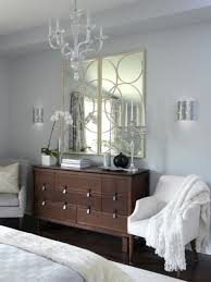 Mirrored Bedroom Dresser Wooden Bedroom Dresser Design With Unique Geometric Mirror For