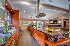 European Cabinets Palo Alto Modern Kitchen With Flush European Cabinets Porta Cabinetry