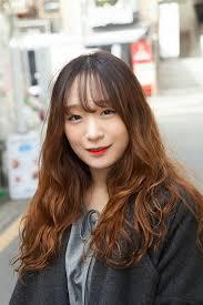 デジタルパーマ 上品 ロング エレガントtanpopo Hair In 韓国 韓国の