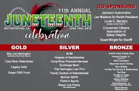 Natchitoches Community Will Gather For Juneteenth Celebration