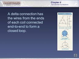 chapter 4 transformer connections ppt video online download Loop Wiring Diagram Single Phase Transformer a delta connection has the wires from the ends of each coil connected end to Single Phase Transformer Connections
