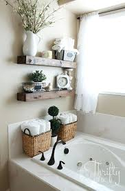 bathroom wall shelf ideas rustic wood for a country home bathroom wall shelf diy