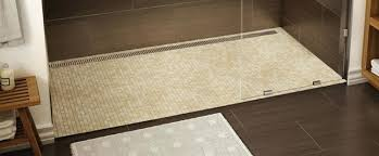 outstanding barrier free bathroom designs especially diffe article shower base canada barrier free shower