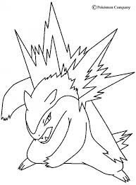 Typhlosion Pokemon Coloring Page More Fire Pokemon Coloring Sheets