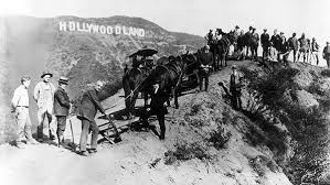 Image result for 1923, the iconic Hollywood sign is dedicated