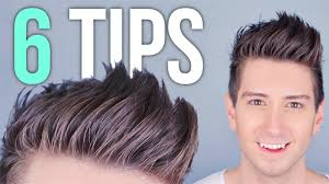 Hair Style Tip 6 tips for styling tall hair mens hairstyles youtube 2720 by stevesalt.us