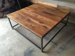steel box frame table
