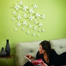 umbra wallflower wall decor set of  white amazonca home