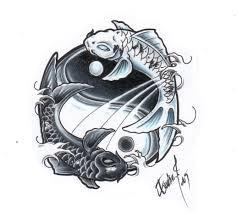 знак зодиака рыбы эскиз тату знак зодиака рыбы фото тату
