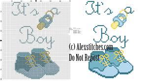 Cross Stitch Birth Announcement Patterns Free Simple Inspiration Design