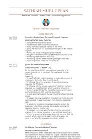 Executive Product And Technical Support Engineer Resume samples