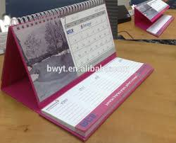 desk calendar stand 2016 with pad table 15