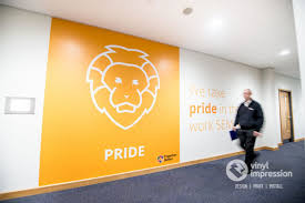 Office Wall Design Inspiration Bright Block Coloured Wall Graphics S Installed In London