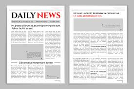 Newspaper Editorial Template Editorial Template Stock Photos And Royalty Free Images