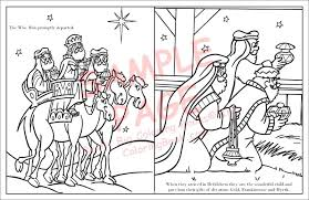 nativity story coloring book with the real story of biblical laptop coloring wide x tall free