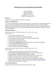 Collection Of Solutions Cover Letter For Chartered Accountant Resume