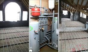 Heatpump Installation Thermia Ground Source Heat Pump Under Floor Installation